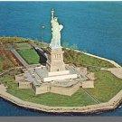 LIBERTY ISLAND, NEW YORK/NY POSTCARD, Statue Of Liberty