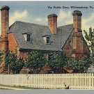 WILLIAMSBURG, VIRGINIA/VA POSTCARD, The Public Gaol