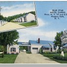 NEW YORK/NY POSTCARD, Niagara Falls, Blue Star Motel