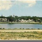 OAK BLUFFS, MASS/MA POSTCARD,Campground,Marthas Vinyard