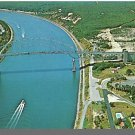 CAPE COD, MASS/MA POSTCARD,  Sagamore Bridge/Canal