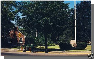 Nice NIANTIC, CONN/CT POSTCARD, The Green, Near mint!