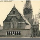 CAMBRIDGE, MASS/MA POSTCARD, Harvard's Memorial Hall