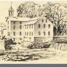 PAWTUCKET, RHODE ISLAND/RI POSTCARD, Old Slater Mill