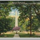 AUGUSTA, GEORGIA/GA POSTCARD,Signers Monument/Greene St