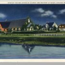 Stunning VIRGINIA BEACH, VA POSTCARD,Star Of Sea Church