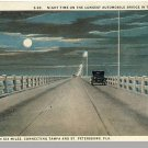 TAMPA/ST PETERSBURG, FLORIDA/FL POSTCARD, 6 Mile Bridge