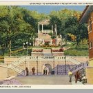 Nice HOT SPRINGS, ARKANSAS/AR POSTCARD, National Park