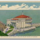 CATALINA ISLAND, CALIFORNIA/CA POSTCARD,Catalina Casino