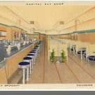 ROCHESTER, MINNESOTA/MN POSTCARD, Capital Eat Shop