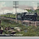 Early PORTLAND & BOSTON EXPRESS POSTCARD, Railroad/RR