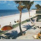 ST. PETERSBURG, FLORIDA/FL POSTCARD, White Sand Beach