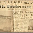 THE CHEROKEE SCOUT NEWSPAPER,1951,Murphy,NC,Lone Ranger