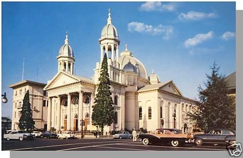 SAN JOSE CALIFORNIA/CA POSTCARD, St. Joseph's Church
