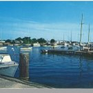 FALMOUTH, MASS/MA POSTCARD, Harbor/Yacht Club, Cape Cod