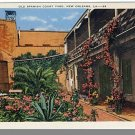 NEW ORLEANS, LOUISIANA/LA POSTCARD, Spanish Court Yard