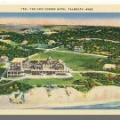 FALMOUTH, MASS/MA POSTCARD, The Cape Codder Hotel