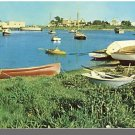 HYANNIS, MASS/MA POSTCARD, Harbor & Park, Cape Cod