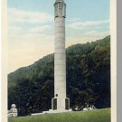LOOKOUT MNT, TENNESSEE/TN POSTCARD, Ohio Peace Monument