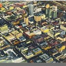 BIRMINGHAM, ALABAMA/AL POSTCARD, Aerial View Of City