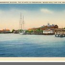WOODS HOLE, MASS/MA POSTCARD, Oceanographic, Cape Cod