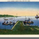WOODS HOLE, MASS/MA POSTCARD, Little Harbor, Cape Cod