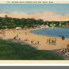 Nice ONSET, MASS/MA POSTCARD, Bathing Beach, Cape Cod