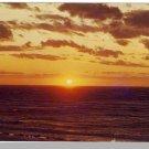 Stunning CAPE COD, MASS/MA POSTCARD, Sunset On Bay