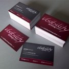 "1000 ""Slik""Single or Double sided Business Cards"