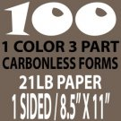 100 Carbon Copy Forms