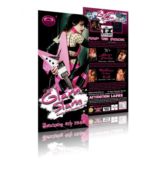 1000 4x6 full color double sided uv coated flyers