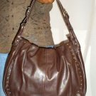 Chocolate Brown Studed Purse