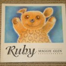 Ruby by Maggie Glen the special teddy bear