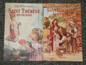 Saint Therese and the Roses and Saint Elizabeth's Three Crowns