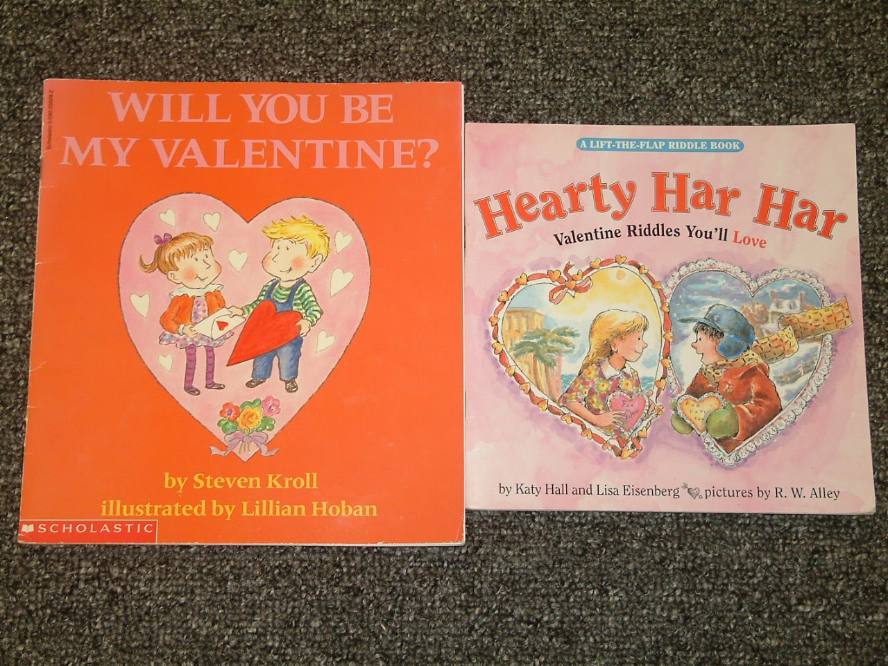 Will You Be My Valentine and Hearty Har Har Valentine Riddles