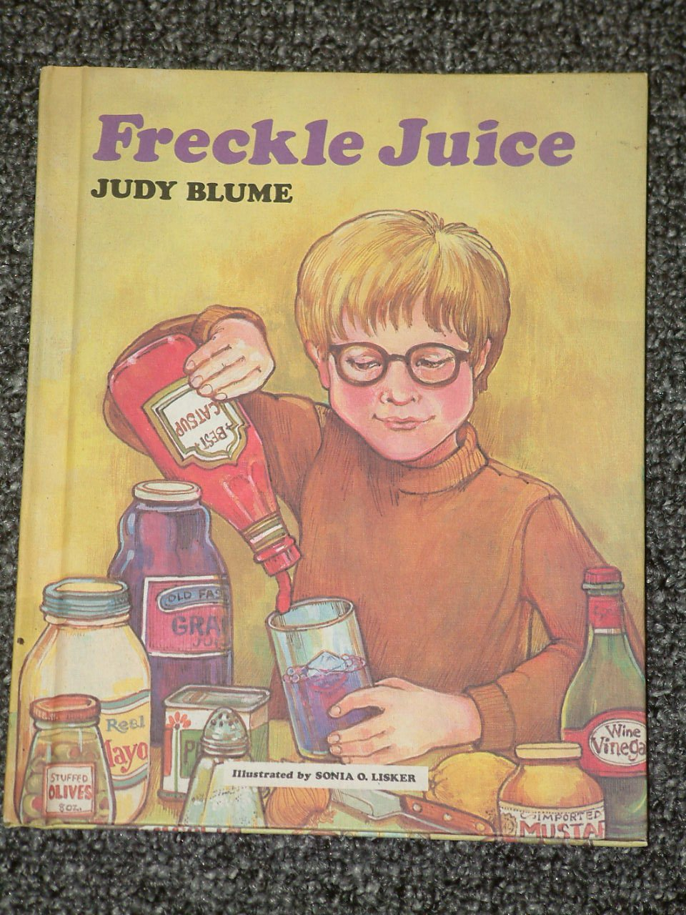 Freckle Juice by Judy Blume HB