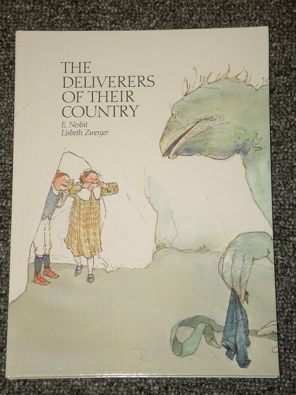 The Deliverers of Their Country by E. Nesbit