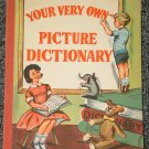 Your Very Own Picture Dictionary by Jaro 1963
