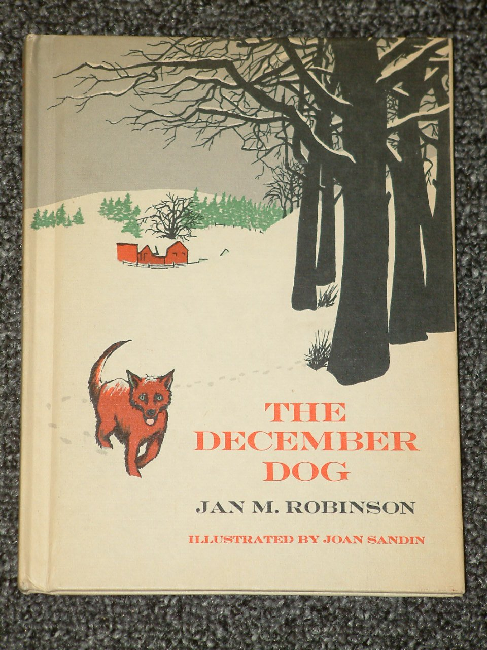 The December Dog by Jan M. Robinson 1969