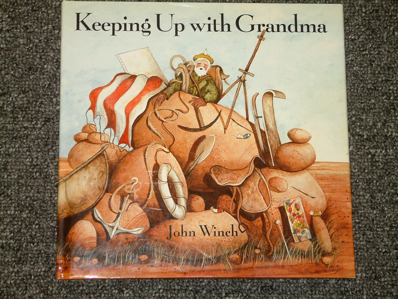Keeping Up with Grandma by John Winch HB DJ