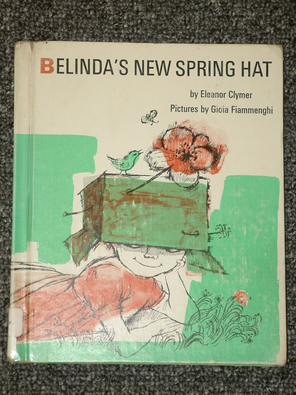 Belinda's New Spring Hat by Eleanor Clymer 1969