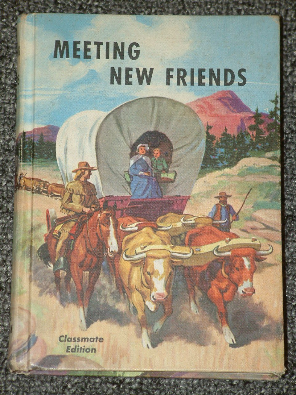 Meeting New Friends Classroom Edition Reading book 1956