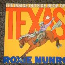 The Inside-Outside Book of Texas Roxie Munro Brand New