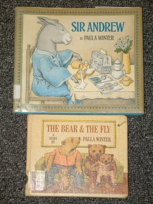 The Bear & The Fly and Sir Andrew by Paula Winter
