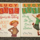 2 Lucy Rose books by Katy Kelly Here's the Thing About Me