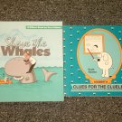 2 Dilbert Books by Scott Adams Shave the Whales and Dogbert's Clues for the Clueless