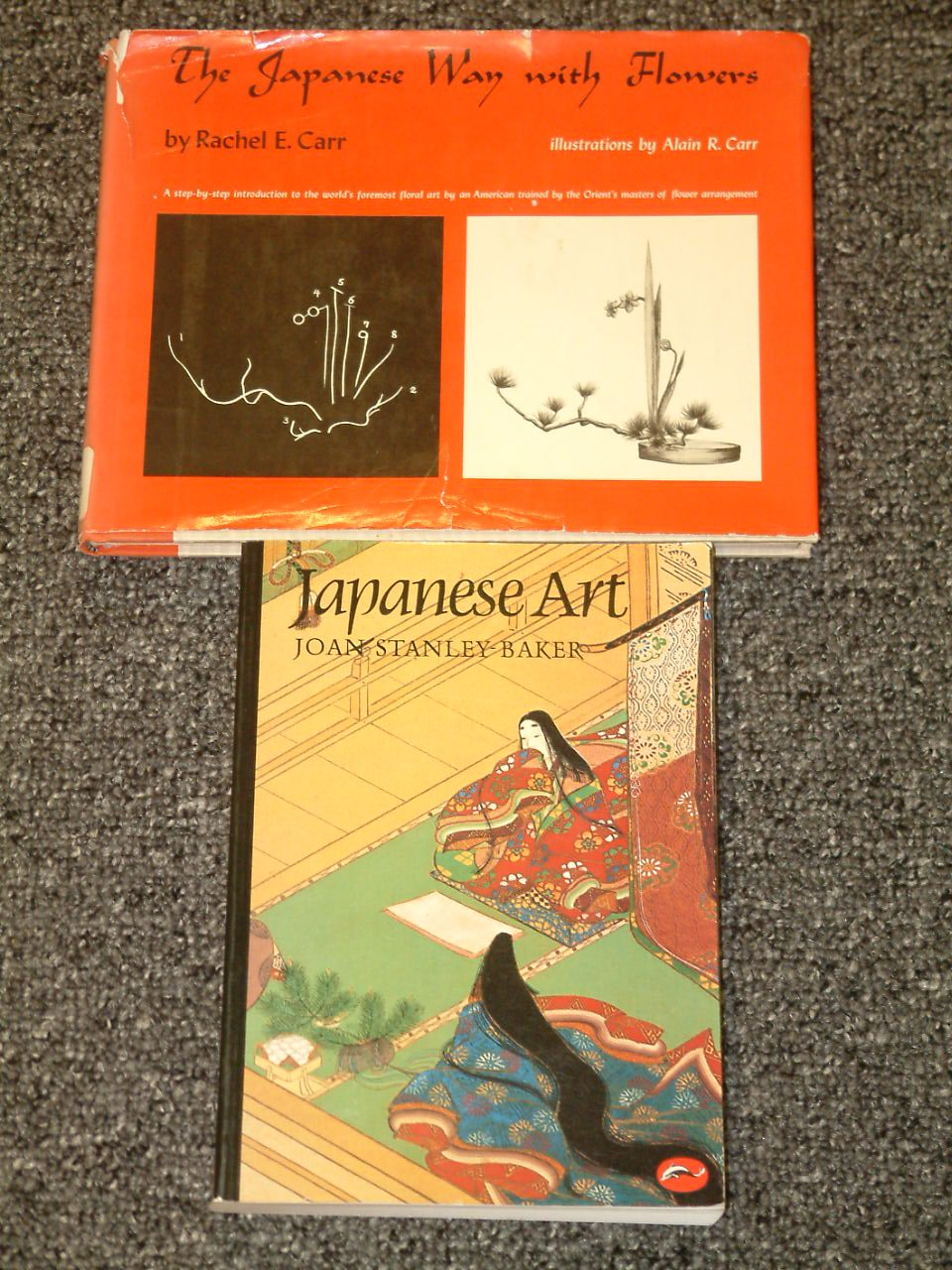 Japanese Art by Joan Stanley Baker and The Japanese Way with Flowers
