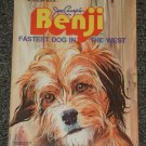 Benji Fastest Dog in the West Giant Golden Book