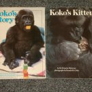 Koko's Kitten and Koko's Story by Dr. Francine Patterson
