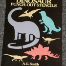 Dinosaur Punch Out Stencils A. G. Smith Dover books